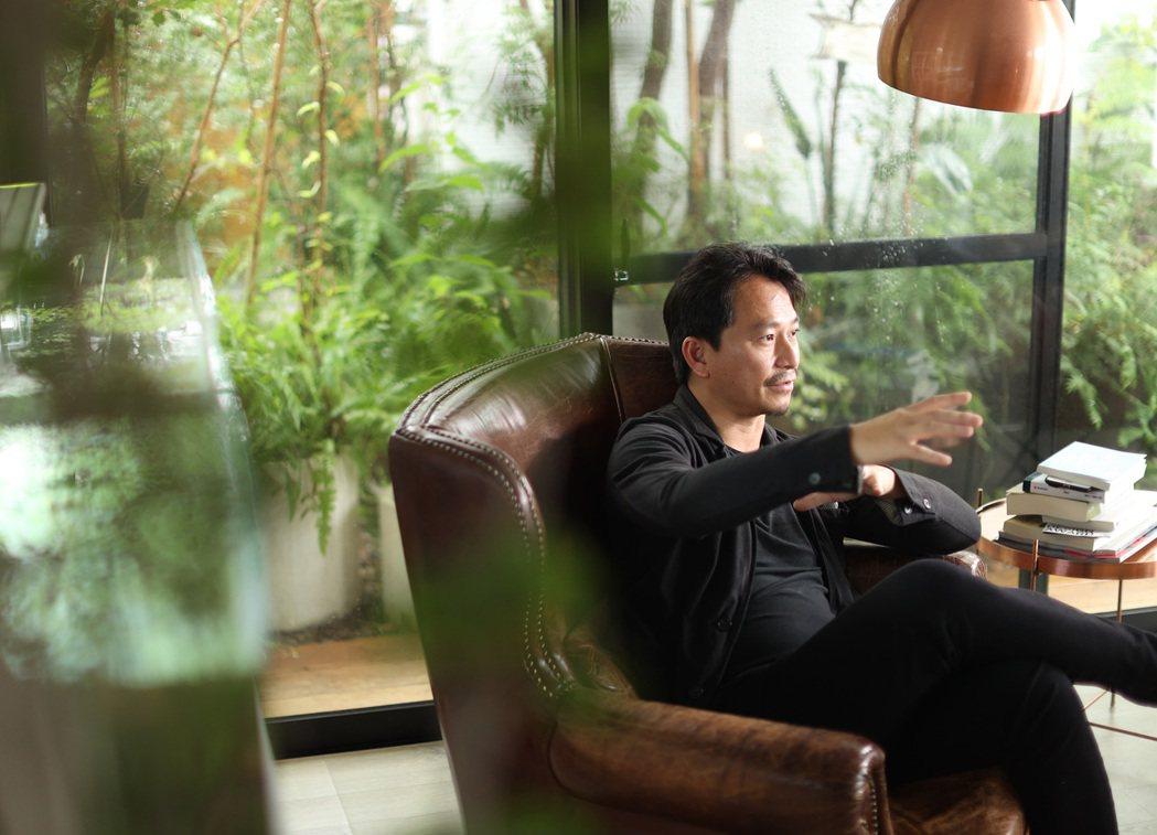 景觀設計師吳書原的家,室內外都生意盎然。記者林澔一/攝影