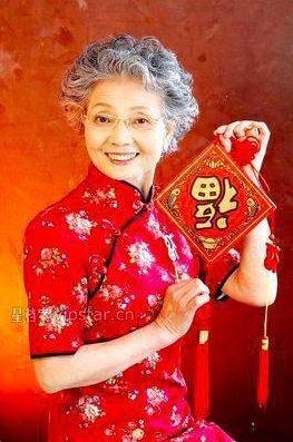 89歲的盛瑞玲,被大陸網友稱呼她為:「中國最時尚的神仙奶奶」。 圖/百度百科