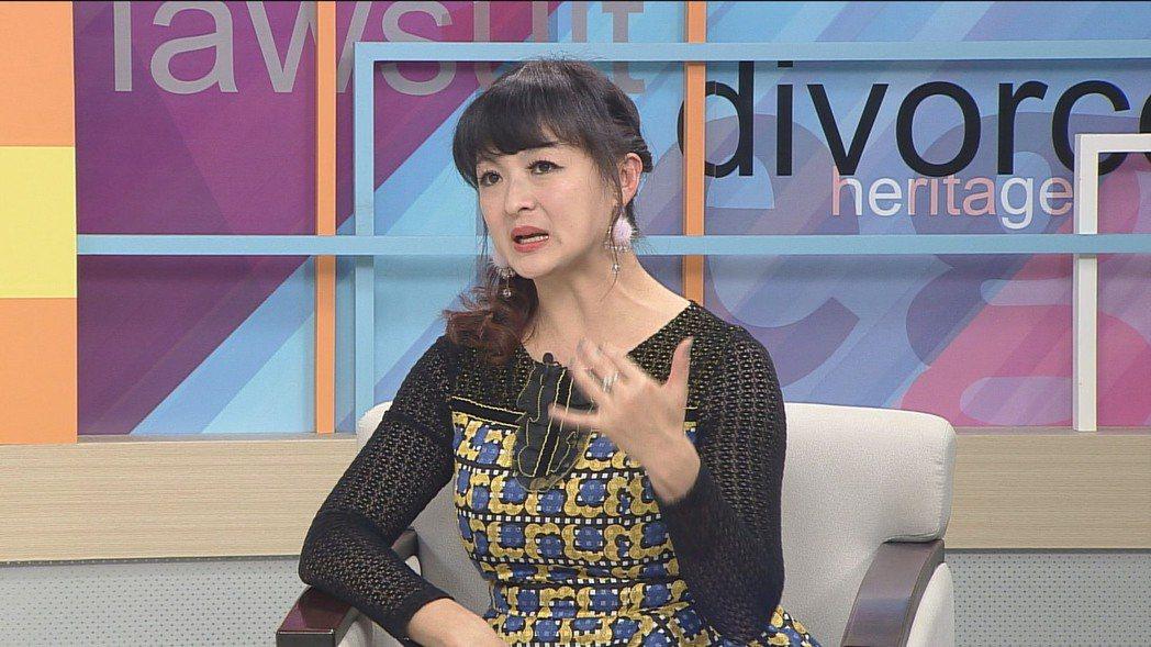 女星林芷薇上謝震武節目聊坎坷人生。圖/高點提供