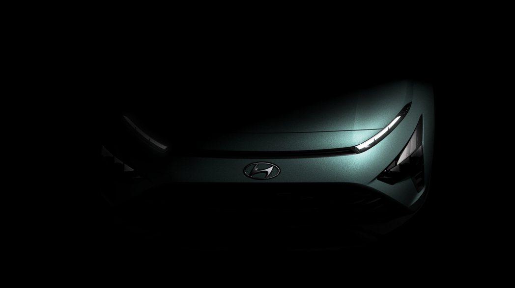 全新Hyundai Bayon預告上半年正式推出。 摘自Hyundai
