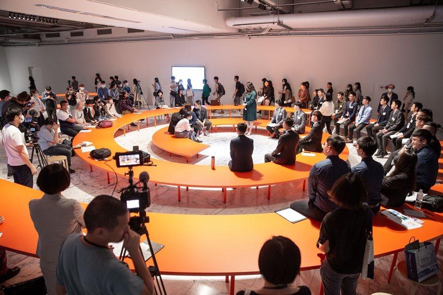 2020年11月20日,協商劇場試演場:離岸風電進行式。 圖/臺北市立美術館提供