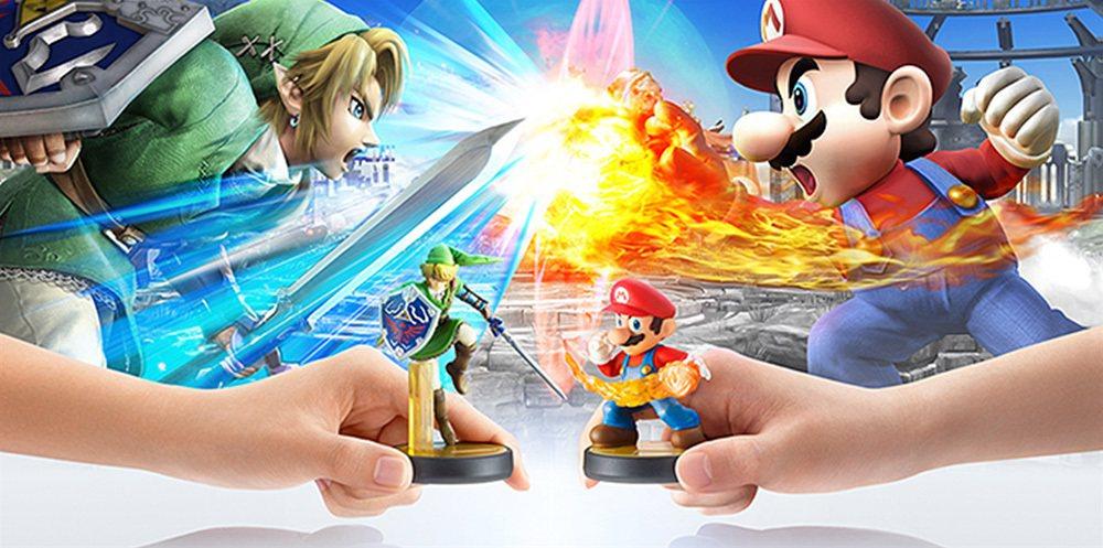 《任天堂明星大亂鬥3DS/Wii U》除了首次對應双平台,還導入了可以利用ami...