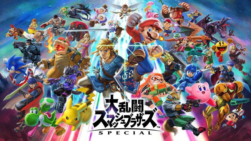 角色參戰人數達70多人,如今的《任天堂明星大亂鬥特別版》已經可以說是全遊戲界角色...