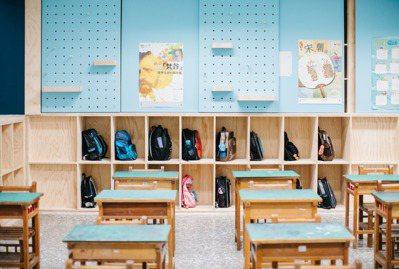 富功國小教室收納。 圖/台灣設計研究院提供