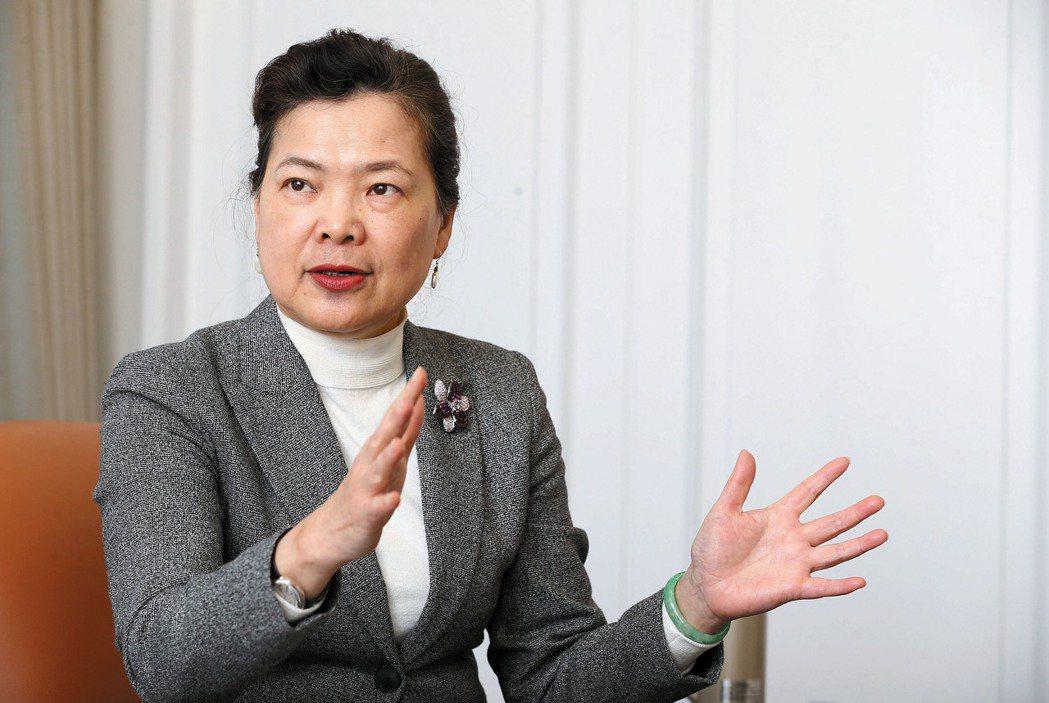 經濟部長王美花。記者胡經周/攝影
