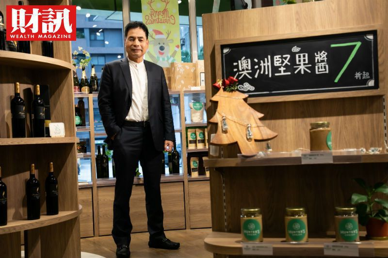 「綿羊油大王」澳台國際董事長吳進昌。(圖/陳俊松攝)
