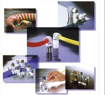 誠力國際企業公司推出各種空、液壓流體用軟管及接頭。 誠力/提供