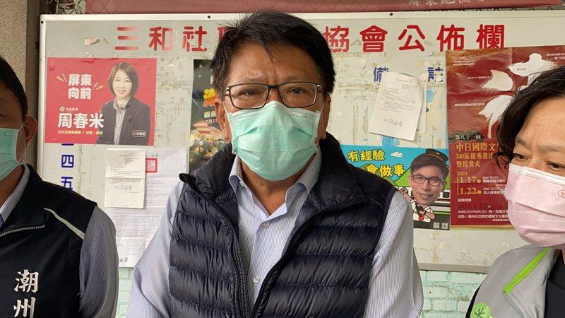 屏東縣長潘孟安說,不應貼標籤,要展現「多一度的關懷、資源與協助」。記者劉星君/攝影