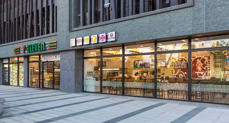 首家「7-ELEVEN X COLD STONE複合店」1月22日於桃園中路特區...