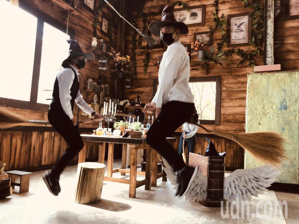 十鼓文創園區推出「食譜魔法工廠」,搶攻春節國旅商機。記者周宗禎/攝影