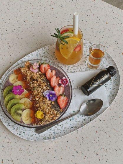 宏碁實踐生活風格品牌 聯名人氣餐廳推VitaBeauty膠原蛋白套餐。宏碁/提供