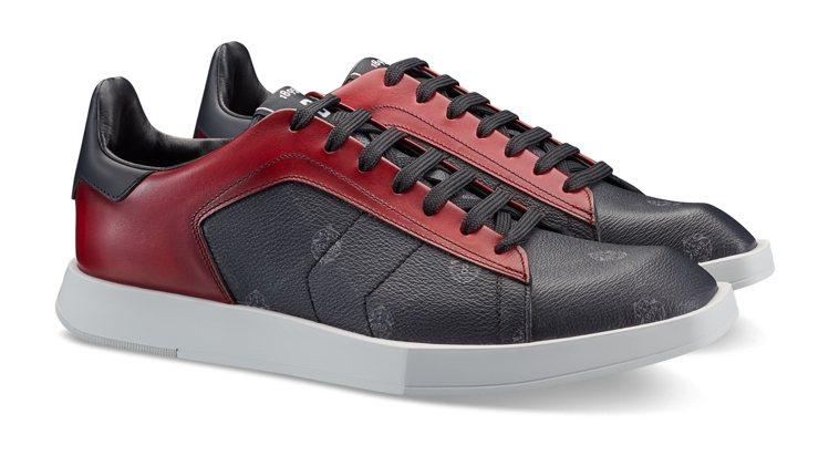 Stellar西馬爾紅休閒鞋,36,500元。圖/Berluti 提供