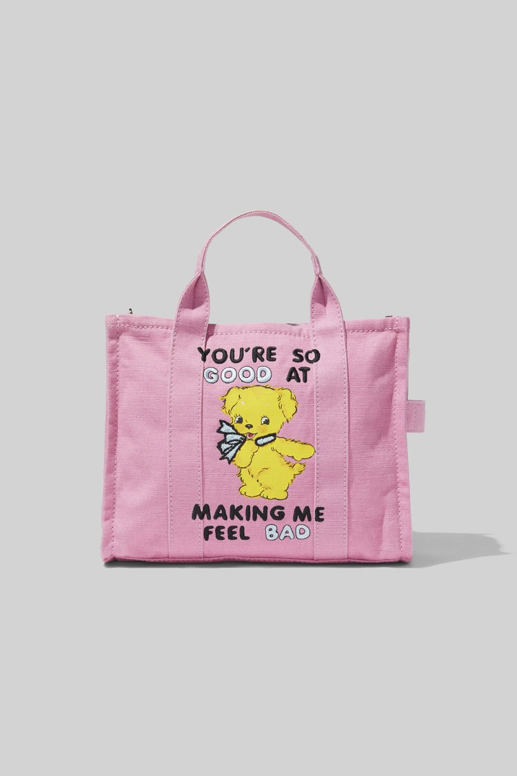Marc Jacobs X Magda Archer黃毛小狗塗鴉The Tote...