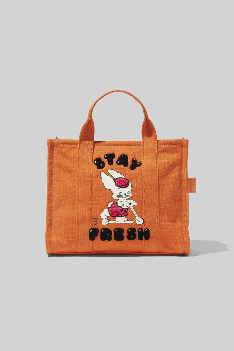 Marc Jacobs X Magda Archer滑板兔子塗鴉The Tote...