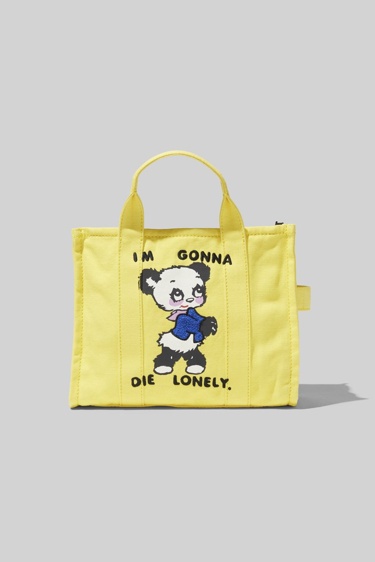 Marc Jacobs X Magda Archer樂天熊貓塗鴉The Tote...