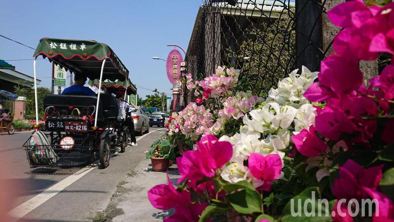春節連假是田尾鄉的旅遊旺季,鄉公所要求年貨大街主辦單位訂出防疫措施。記者簡慧珍/攝影