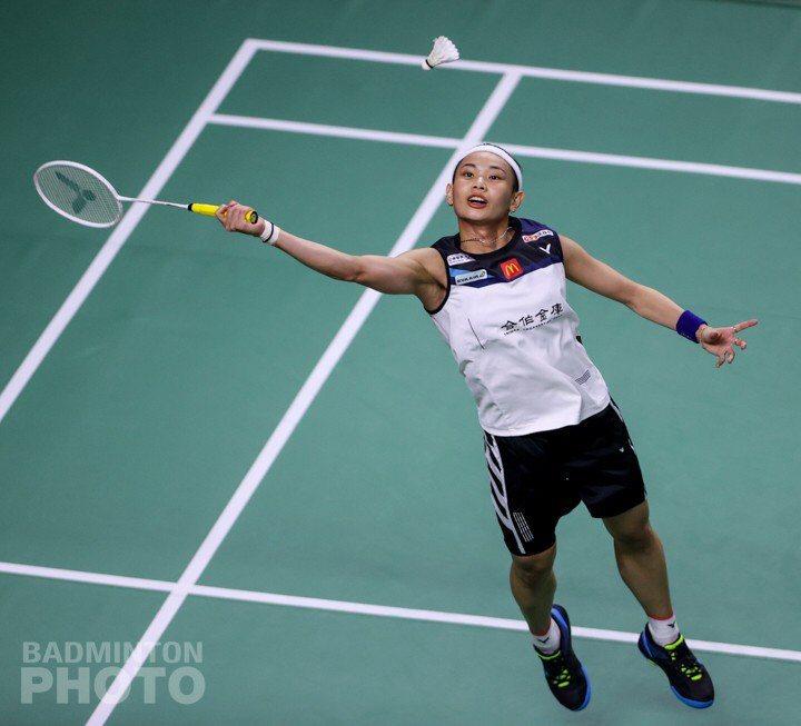 戴資穎直落2迎接亞洲公開賽8強門票。圖/Badminton Photo提供