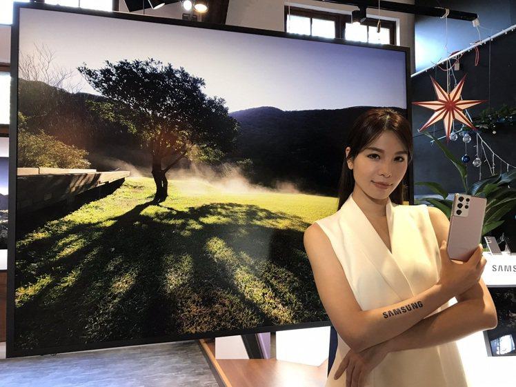 Samsung Galaxy S21 5G旗艦系列強大的攝錄影功能、專業級相機與...