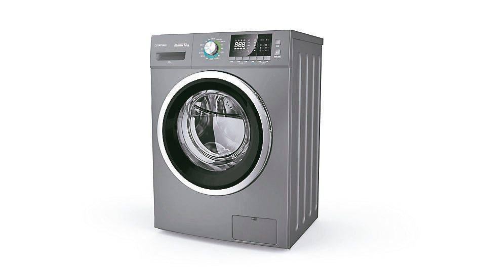 大同變頻溫水洗脫烘滾筒洗衣機福利品優惠價17,900元。大同3C/提供
