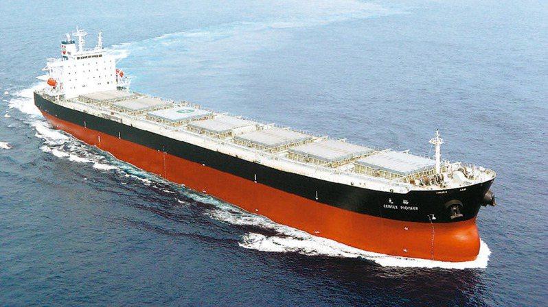 BDI指數回穩,散裝航運受惠。圖為裕民航運旗下散裝船。(本報系資料庫)