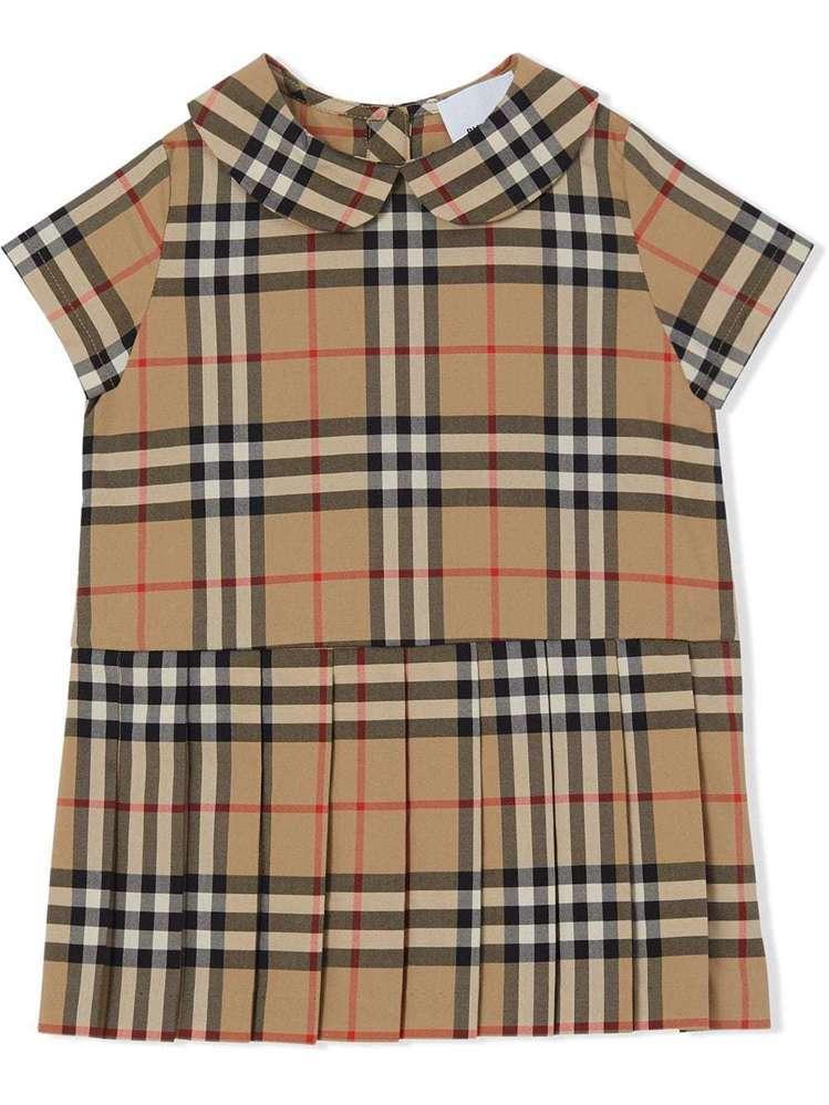 BURBERRY百褶裙洋裝,10,200元。圖/微風精品提供