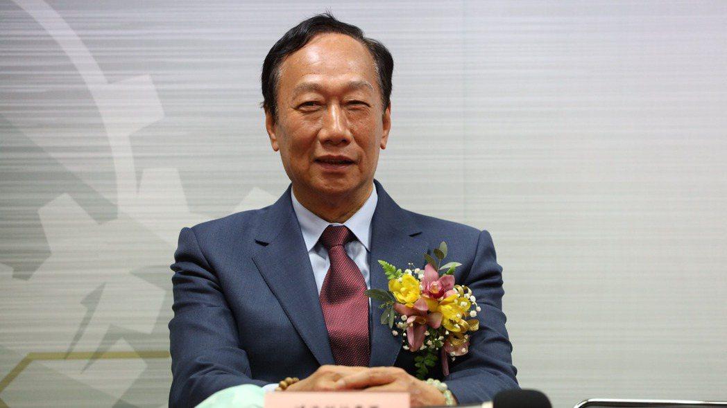 鴻海創辦人郭台銘。 圖/本報系資料庫