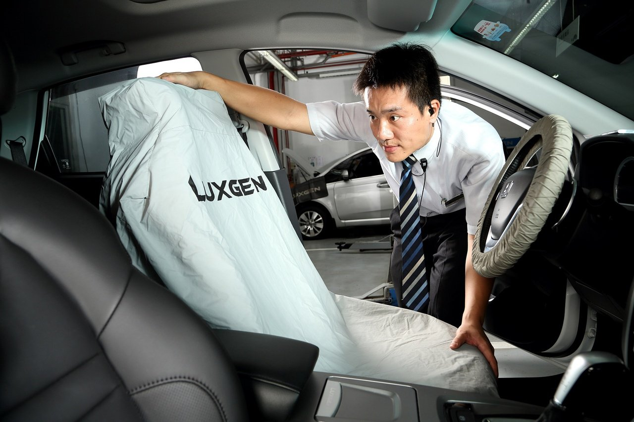 過年如果要長途返鄉或出遊,務必要送愛車回廠檢查。 圖/LUXGEN提供