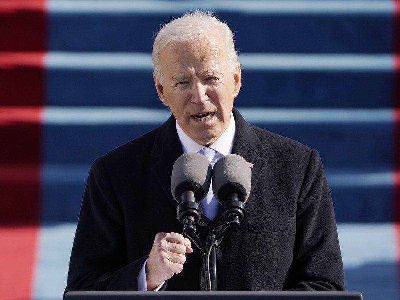 拜登(Joe Biden)20日正式就任為美國第46位總統。歐新社