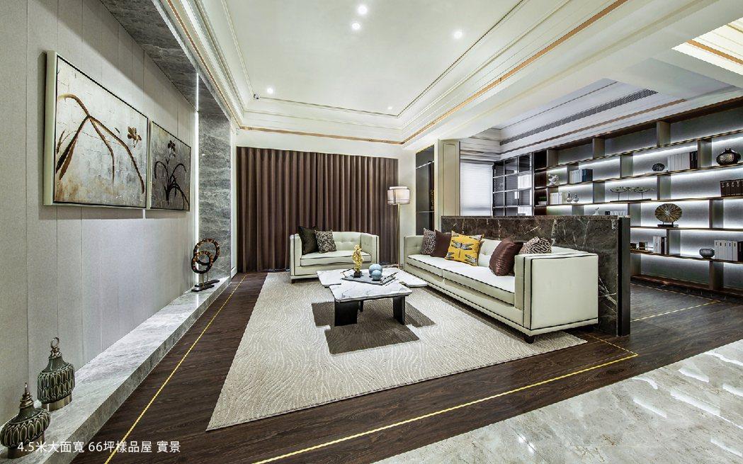 「大璽master One」66坪樣品屋。