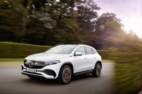 EQ Family入門擔當、續航力超過400公里 全新Mercedes-Benz EQA純電休旅正式發表!