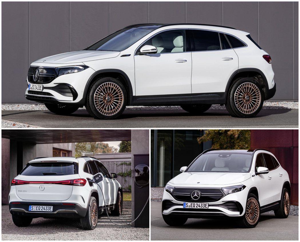 全新Mercedes-Benz EQA是建構於現行第二代GLA之上。 摘自Mer...