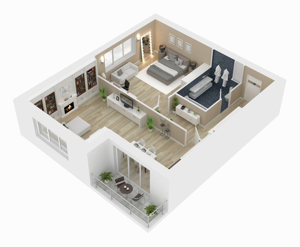 挑選格局方正、室內沒有樑柱的為佳,避免小坪數的空間再被吃掉。 圖/21世紀不動產...