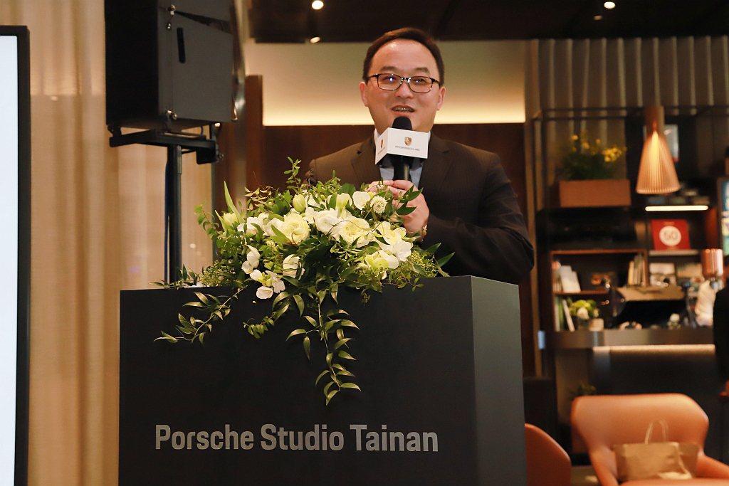 尚騰汽車集團執行長吳睿弘表示:「我們高度看好大台南區域在台積電領軍,人才、廠商大...