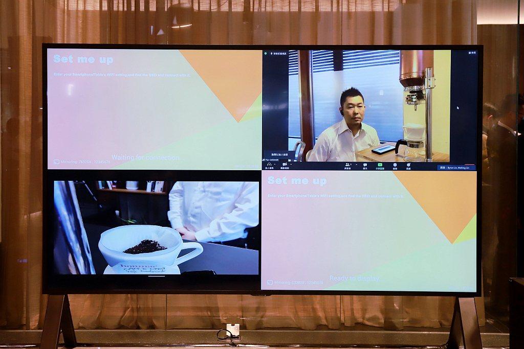 OTFES提倡「讓複雜變簡約」的品牌精神,運用雲端科技手沖咖啡機紀錄咖啡師專屬的...