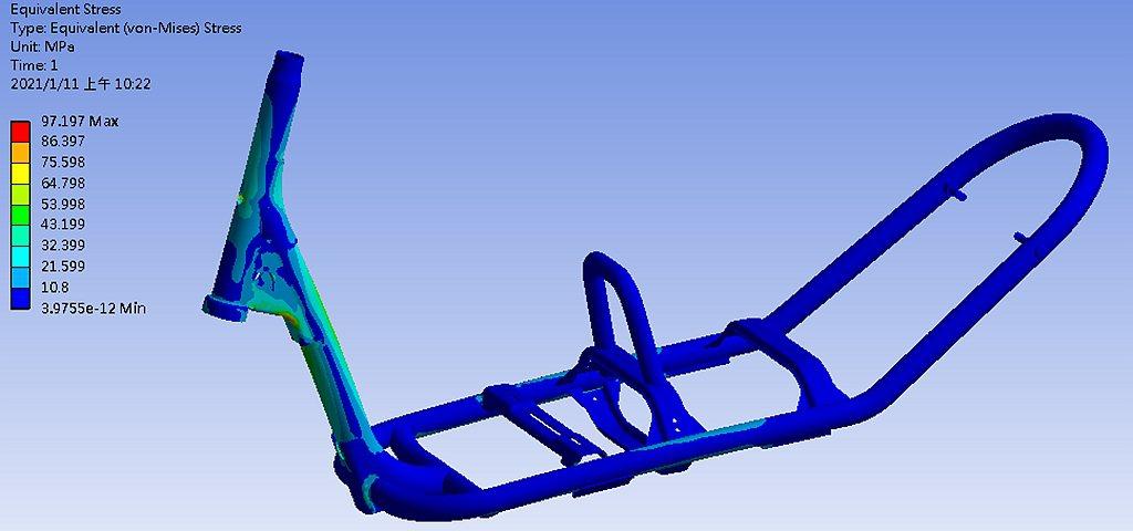 以PGO最頂尖的Scooter原創車架設計為核心,輕量化、高強度,不僅大幅提升騎...
