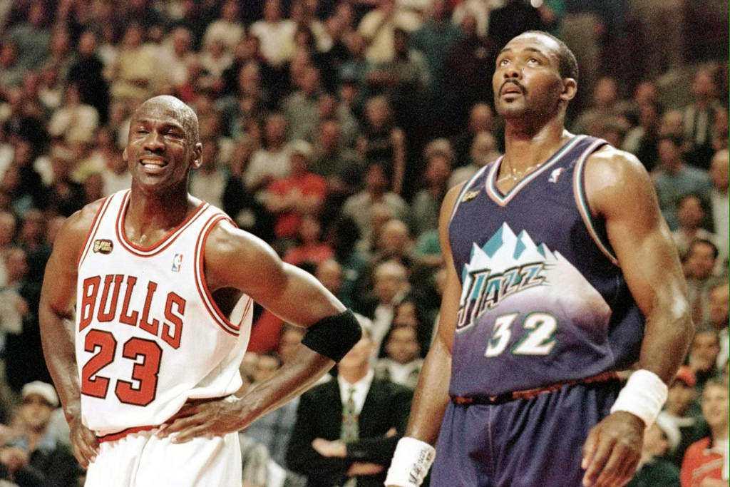 NBA/冠軍戰隊友竟找對手喬丹要簽名 郵差馬龍記恨至今