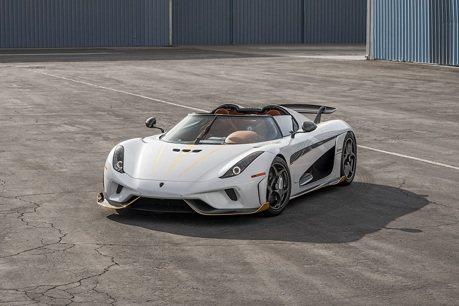 Koenigsegg Regera等你來競標!準備300萬美金就有機會