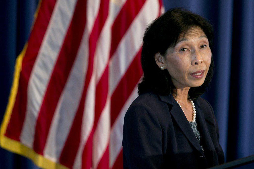 梁內利(Nellie Liang,音譯)將出任美國財政部次長。(圖/彭博資訊)