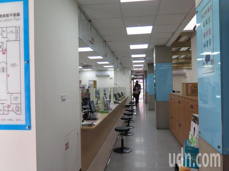 桃園市衛生局內部情形。記者張裕珍/攝影