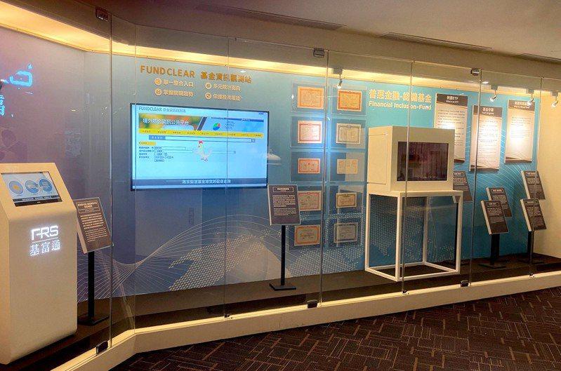 台灣股票博物館推出「基金主題特展」。(集保結算所/提供)
