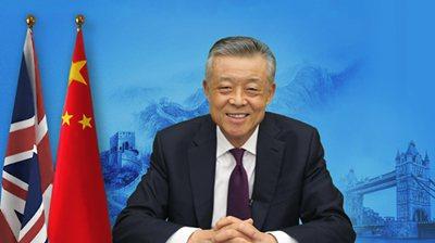 大陸駐英大使劉曉明。圖/取自大陸外交部網站