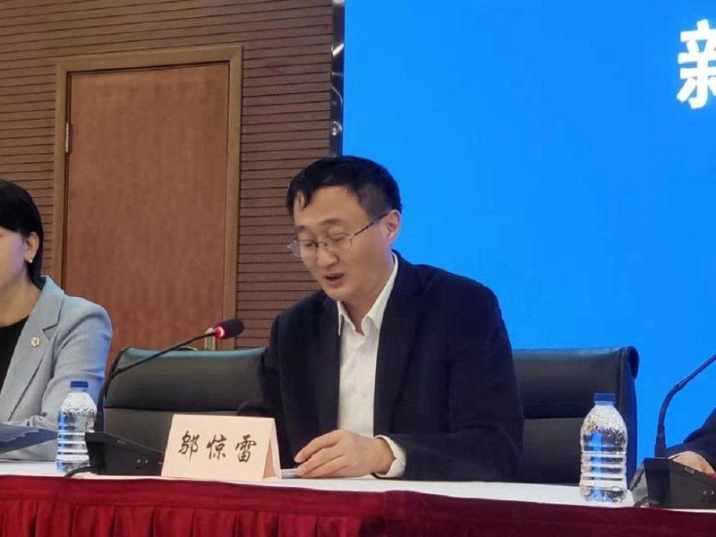 上海市衛生健康委主任鄔驚雷。圖/文匯報