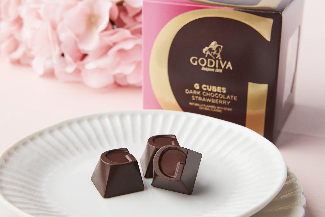 7-ELEVEN西洋情人節限定商品1月27日起登場,限量的「G Cube 草莓松...