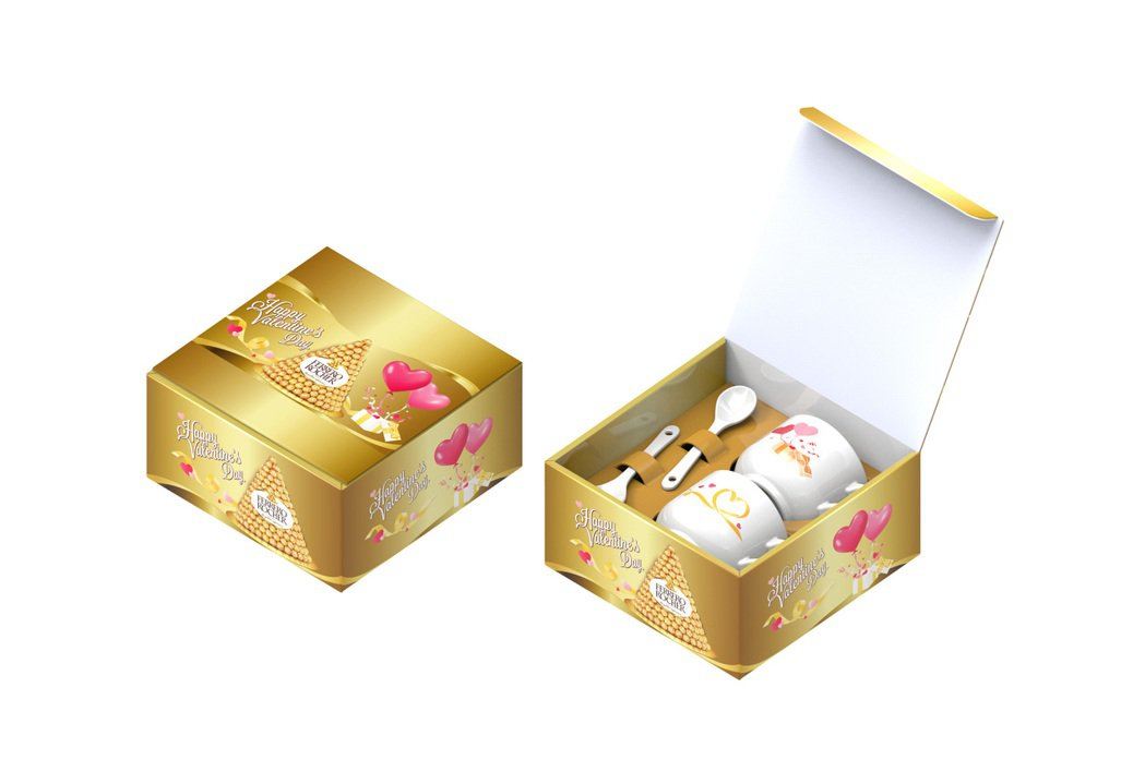 7-ELEVEN西洋情人節限定商品1月27日起登場,購買4件金莎巧克力3入裝獨家...