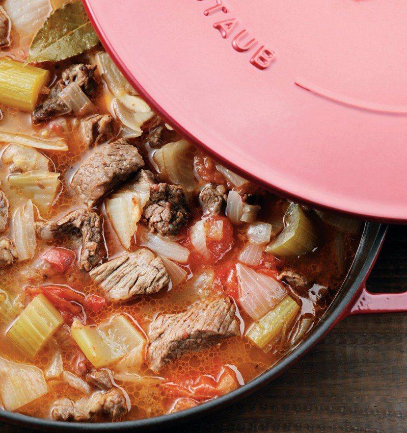 無水番茄牛肉。圖/幸福文化 提供