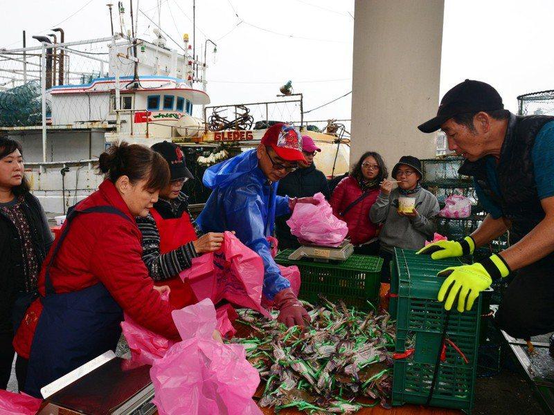 新北市多年來力推萬里蟹活動,希望為當地帶來商機及人潮。圖/新北市漁業處提供