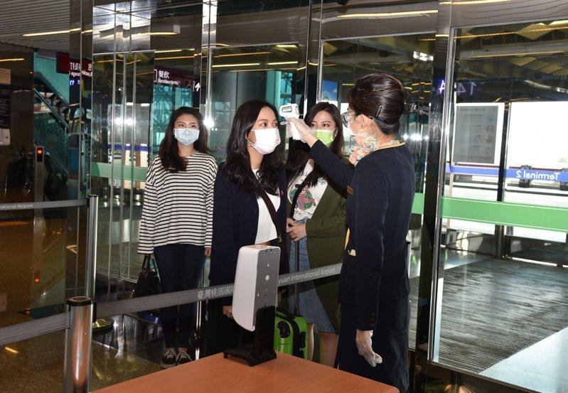 近期已到春節前返國的高峰期,為因應疫情升溫,桃園機場公司採行多項因應措施。 圖/桃機公司提供