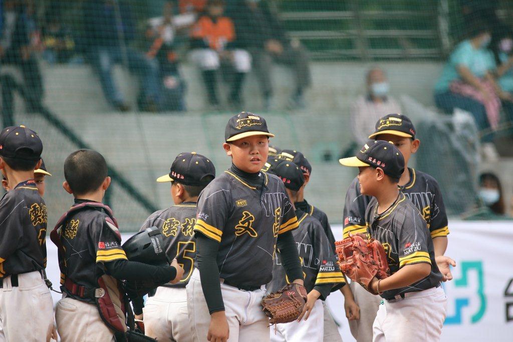 2021富邦盃台灣12強少棒大賽,雲林縣文昌國小首度參賽就晉級四強。圖/中華棒球