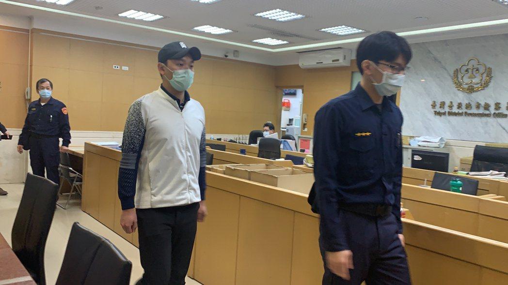 群益投信基金前經理人黃常恩。記者賴佩璇/攝影。