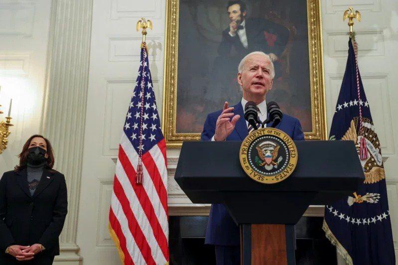 美國新任總統拜登。 路透
